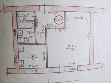 Продам 1 комнатную квартиру в пгт червоный донец